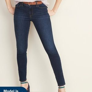Old Navy Mid-Rise Pop Icon Skinny Jeans (NWT!)